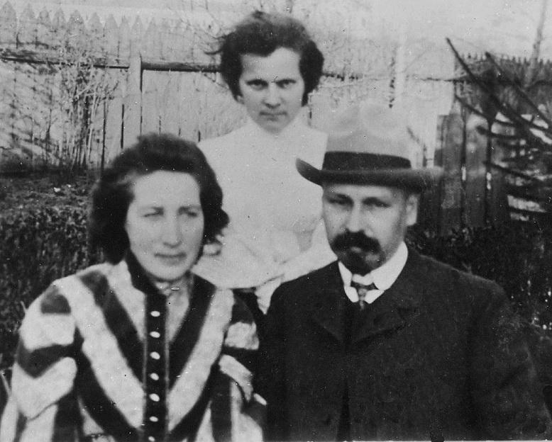 Микола Вороний із дружиною Вірою Вербицькою