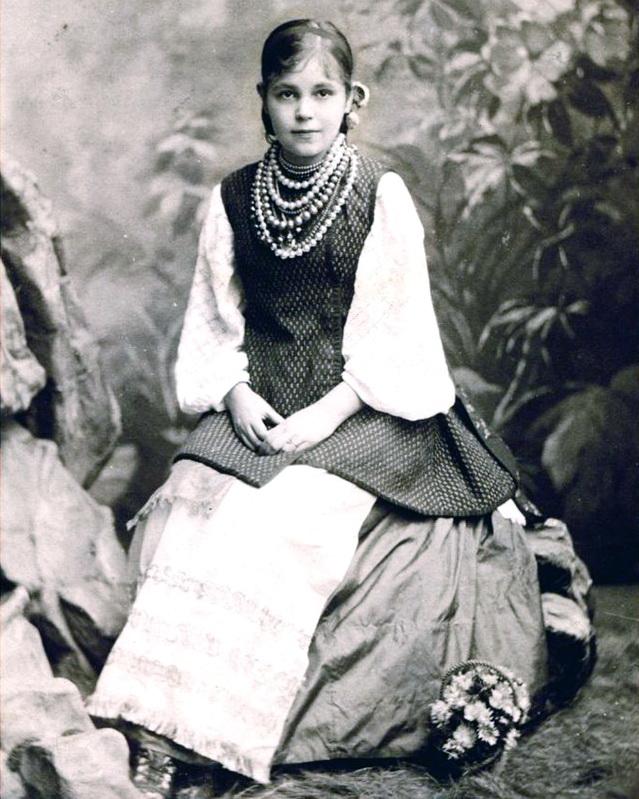 Людмила Михайлівна Старицька-Черняхівська, 1882 р.