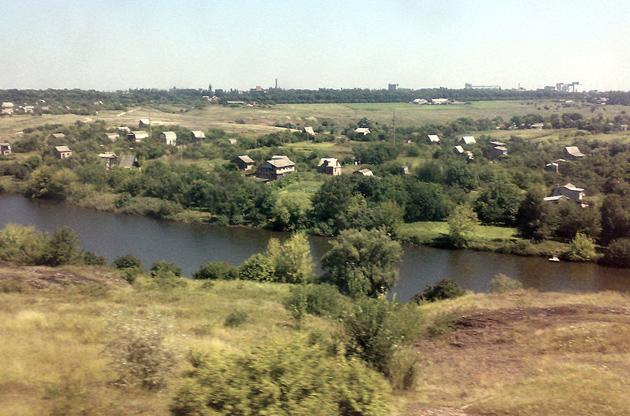 Село Вороне (нині - Новоукраїнка) Кіровоградської області