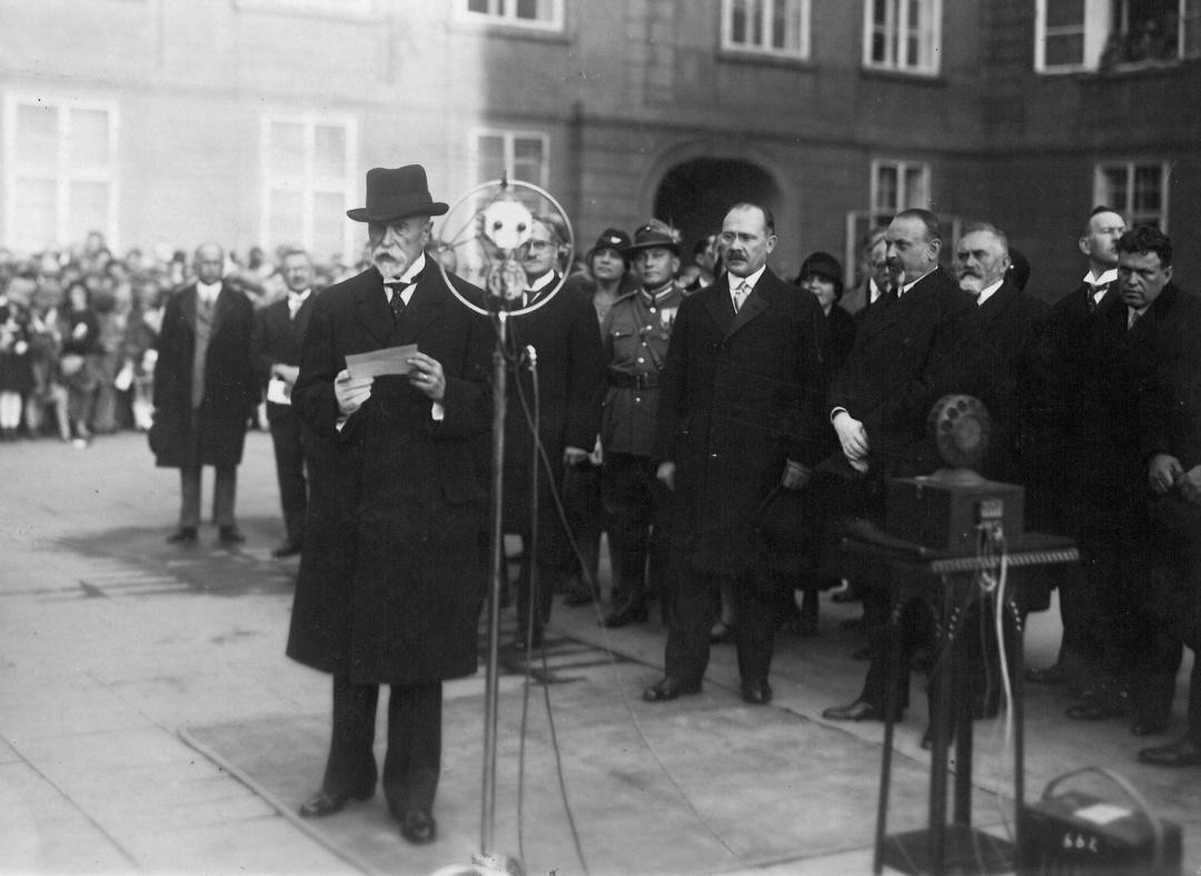 Перший президент Чехії Томаш Масарик