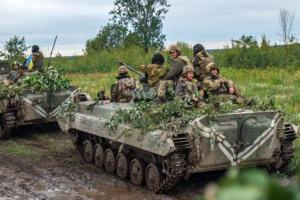 Im Raum von Bohdaniwka begann Truppenabzug