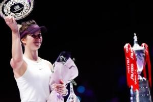 Svitolina termina el año en el puesto 6 del ranking de la WTA