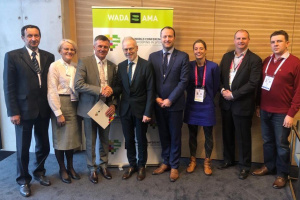 Ukrainian delegation at WADA Congress discusses cooperation on fight against doping
