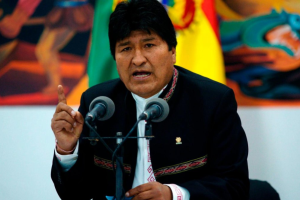 Експрезидент Болівії втік до Мексики