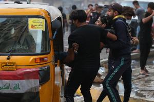 В Ираке обстреляли антиправительственный протест - есть погибшие, десятки раненых