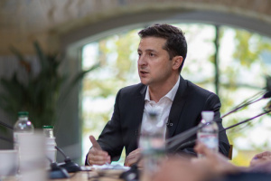 Zelensky: Sometimes I feel like a kid with adults
