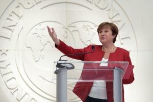 Глава МВФ: В интересах Украины сохранить независимость Нацбанка