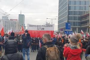 Националистический Марш независимости в Варшаве прошел без эксцессов