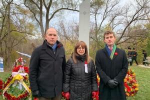 Світовий конґрес українців віддав шану захисникам у День пам'яті