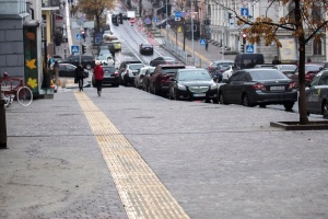 """Кличко сказал, сколько еще будут """"латать"""" Пушкинскую и бульвар Шевченко"""