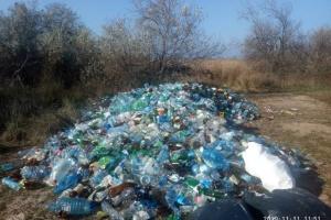 Із Кінбурнської коси вивезли понад чотири тонни скла та пластику