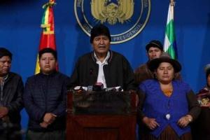 Дочери Моралеса разрешили выехать из Боливии