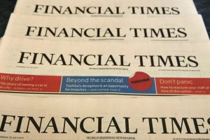 Головредом Financial Times вперше стала жінка