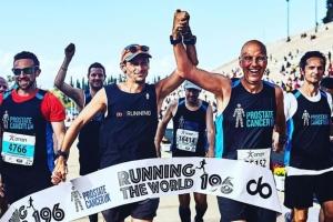 Британец пробежал марафон во всех странах мира