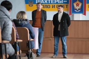 Забастовка на Луганщине: глава ОГА встретился с шахтерами