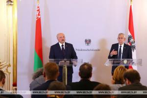 Президент Австрии на встрече с Лукашенко вспомнил об интервенции РФ в Украину