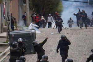 В Боливии с начала протестов погибли семеро демонстрантов