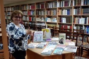 Бібліотека ім. Лесі Українки в Кишиневі поповнилася сучасними українськими виданнями