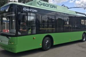 У Харків доставили 24 тролейбуси, куплені за кошти ЄБРР