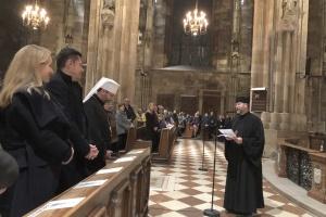 Глава УГКЦ вручив орден Андрея Шептицького архієпископу Відня