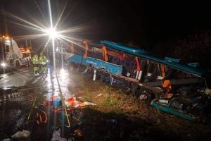 У Словаччині шкільний автобус зіткнувся з вантажівкою, 12 загиблих