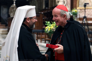 Глава УГКЦ вручил орден Андрея Шептицкого архиепископу Вены