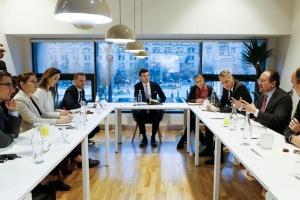 Глава МИД Австрии встретился в Киеве с представителями миссии ОБСЕ