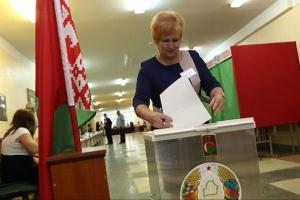 ЦВК Білорусі розповіла, скільки людей прийшли на вибори