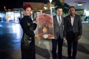 У Петрі триває виставка української художниці Ірини Литвинової