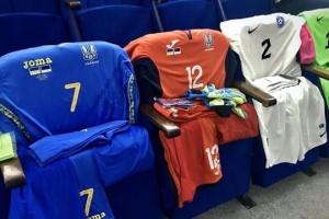 Українські футболісти вийдуть на матч з Естонією у синій формі