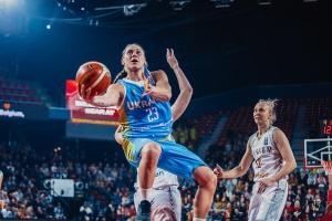 Баскетболистки сборной Украины проиграли в Бельгии матч отбора Евробаскета-2021