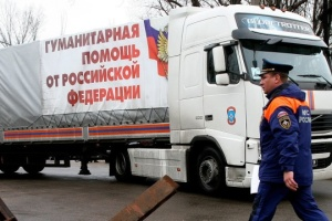OSCE records Russian 'humanitarian convoy' in Donbas
