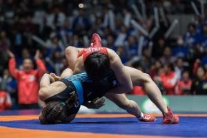 Женская сборная Украины выступит в финале Кубка мира по спортивной борьбе