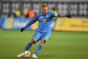 Безус был самым полезным футболистом матча Украина - Эстония