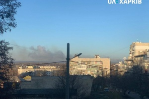 Four Ukrainian servicemen injured in Balakliya arms depot blasts