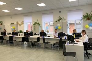 В Козятине открыли модернизированный центр админуслуг