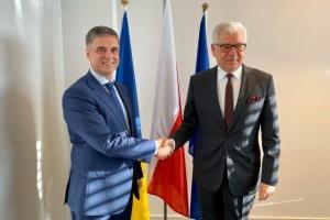 Действуем дальше вместе: Пристайко поздравил Чапутовича с переизбранием