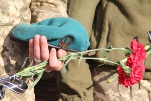 Біля Широкиного українські морпіхи віддали шану загиблим побратимам