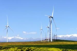 В Грузии продали с аукциона ветровую электростанцию