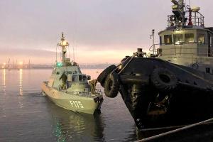 Росія заявляє, що передала Україні захоплені катери