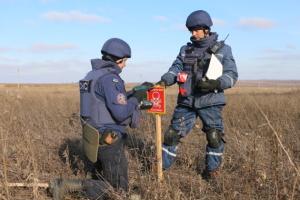 Рятувальники вже розмінували 12 гектарів біля Петрівського