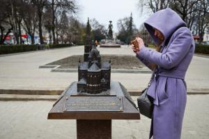 «Бронзовый Тернополь» воссоздает в миниатюре не сохранившиеся достопримечательности города