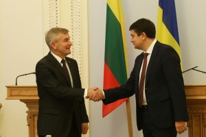 Голова Сейму запросив Разумкова відвідати Литву
