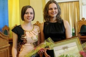 Женская команда шахматной Федерации Киева - клубный вице-чемпион Европы