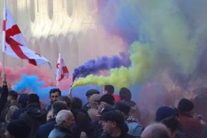 У Тбілісі завершилася спецоперація з розгону мітингувальників, є затримані