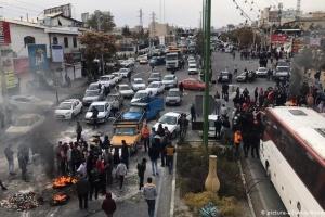 В Ірані під час протестів загинули 12 осіб