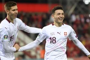 Швейцария и Дания вышли на футбольное Евро-2020