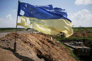 One Ukrainian serviceman killed, four wounded in Donbas fighting