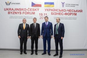 Olexiy Hontcharuk et Andrej Babiš ont participé au forum économique ukraino-tchèque