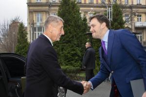 Гончарук и Бабиш приняли участие в украинском-чешском бизнес-форуме